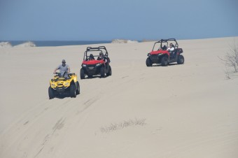 4x4 ATV Outer Banks Beach Tour
