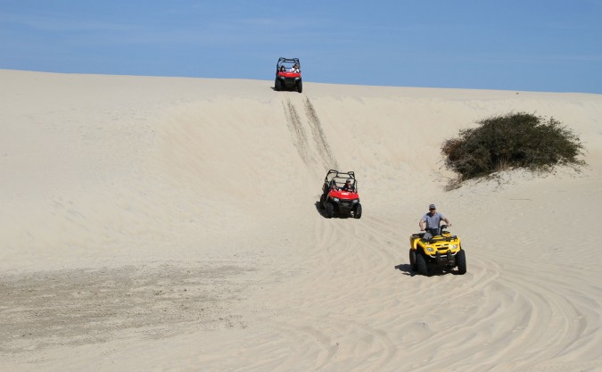 Outer Banks Beach Dune, Jeep Tour